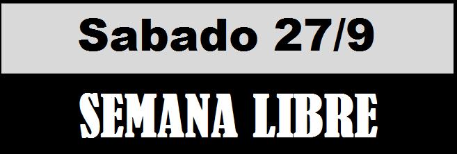 SEMANA LIBRE 1